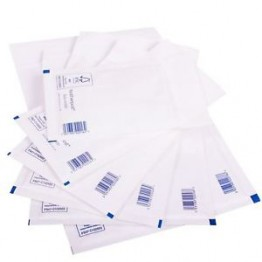 C/0 Featherpost White Bubble Envelopes 150 x 210 mm - Box of 100