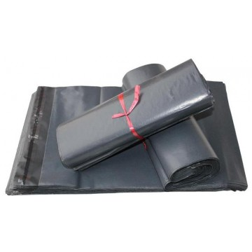 Grey Plain Recycled Poly Mail Bags | Poly Mailer Bags  | Poly Mailing Bags 550 x 750 mm - Box of 100