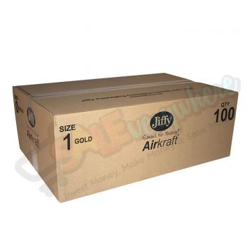 Jiffy Airkraft D/1 Bubble Envelopes Box of 100