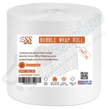 Smart n Secure Bubble Wrap Roll 500mmx100m