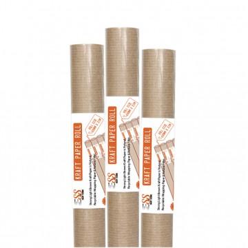Smart n Secure Kraft Paper Roll Brown, 690mm x 2.5m