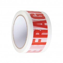 Fragile Low Noise Parcel Tape Roll 48mm x 66m - High Quality Premium Tape
