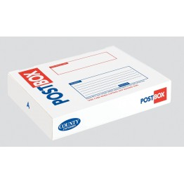 Rectangle Post Box 44.5 x 35 x 7.5cm - Pack of 15